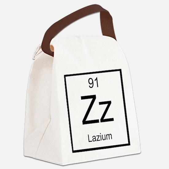 Zz Lazium Element Canvas Lunch Bag