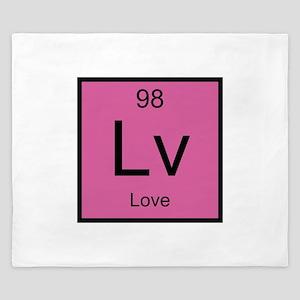 Lv Love Element King Duvet