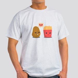 Potato is Heart Broken with French Fries T-Shirt