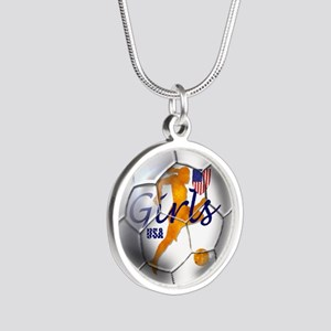 USA Girls Soccer Necklaces