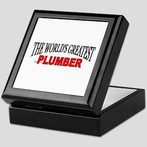 """The World's Greatest Plumber"" Keepsake Box"