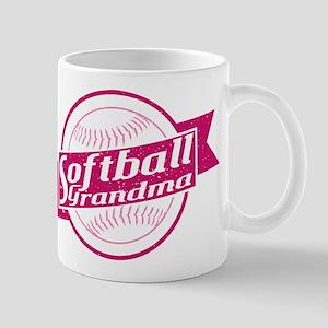 Softball Grandma Mug