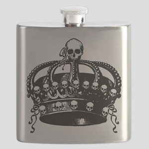 Gothic Skull Crown Flask