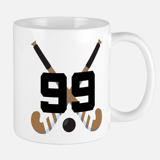 Field Hockey Number 99 Mug