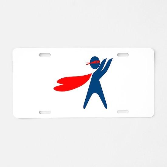 CASA Hero Aluminum License Plate