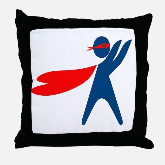 CASA Hero Throw Pillow