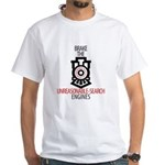 NSA Unreasonable-Search Engines White T-Shirt