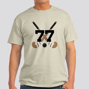 Field Hockey Number 77 Light T-Shirt