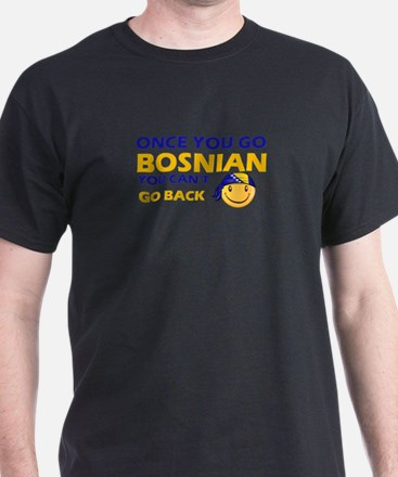 Funny Bosnian flag designs T-Shirt