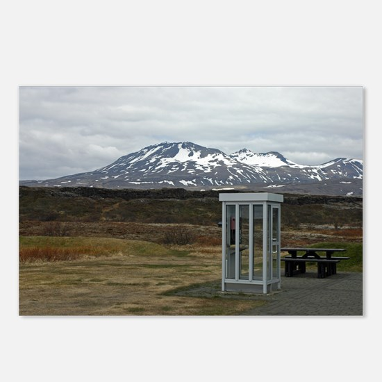 Only In Iceland Postcards (Package of 8)