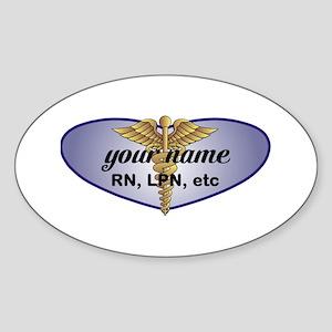 Personalized Nurse Sticker