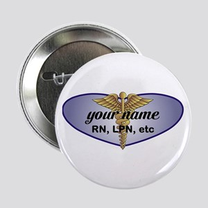 "Personalized Nurse 2.25"" Button"