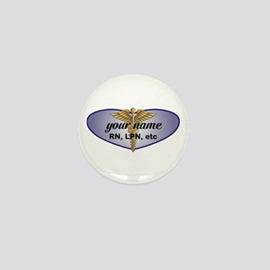 Personalized Nurse Mini Button