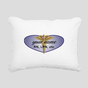 Personalized Nurse Rectangular Canvas Pillow