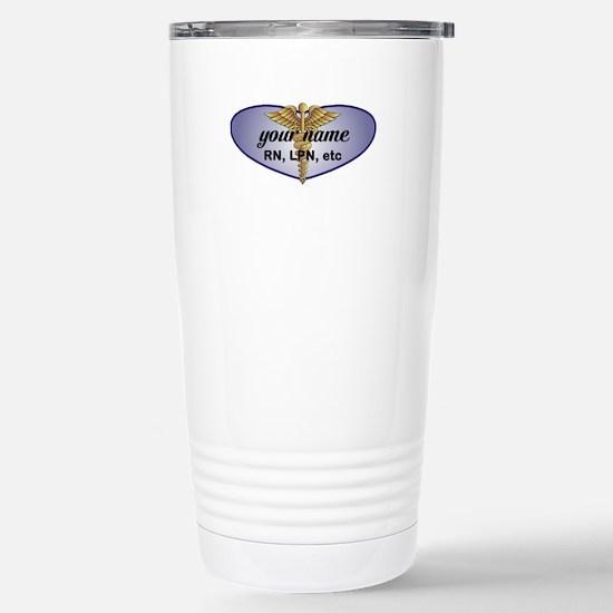 Personalized Nurse Travel Mug