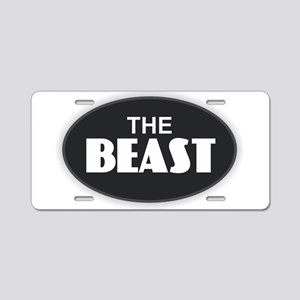 The BEAST Aluminum License Plate