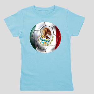 Mexican Soccer Ball Girl's Tee