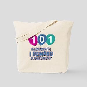 101 year old ballon designs Tote Bag