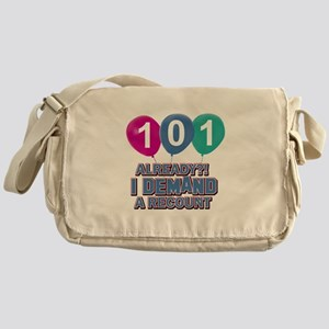 101 year old ballon designs Messenger Bag