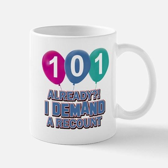 101 year old ballon designs Mug