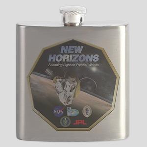 New Horizons Program Logo Flask