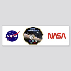 New Horizons Program Logo Sticker (Bumper)