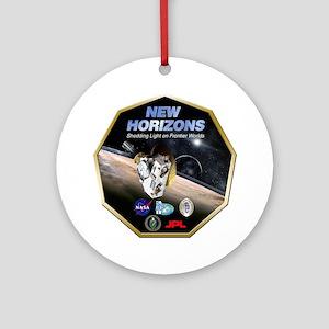 New Horizons Program Logo Round Ornament