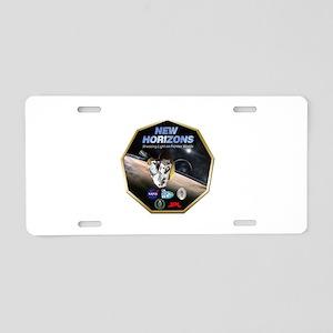 New Horizons Program Logo Aluminum License Plate