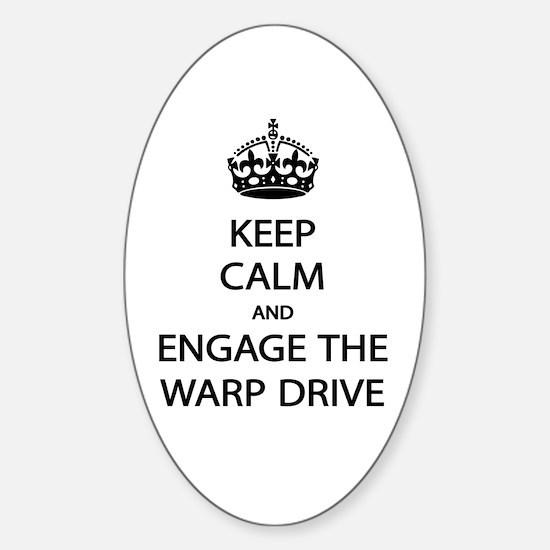 Warp Drive Decal