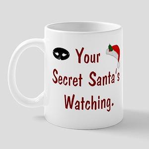 Secret Santa's Watching Mug