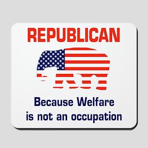welfareoccupation Mousepad