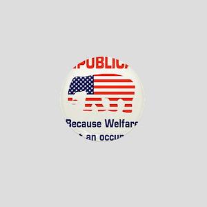 welfareoccupation Mini Button