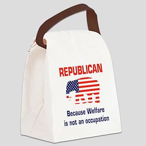 welfareoccupation Canvas Lunch Bag