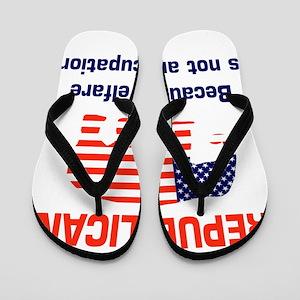welfareoccupation Flip Flops