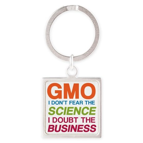 Anti GMO Business Keychains