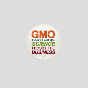 Anti GMO Business Mini Button