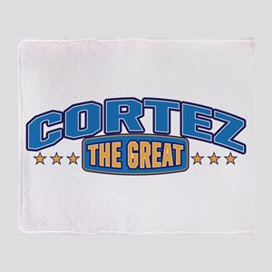 The Great Cortez Throw Blanket