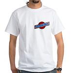 Hemingray Standard Logo White T-Shirt