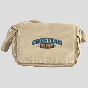 The Great Cristian Messenger Bag