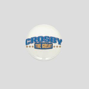 The Great Crosby Mini Button
