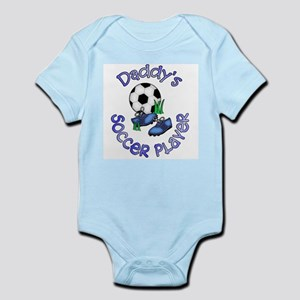 Daddy's Soccer Player Infant Bodysuit