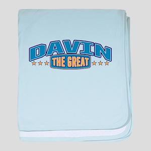 The Great Davin baby blanket