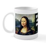 Hillary Clinton Mona Lisa Mug