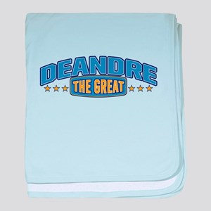 The Great Deandre baby blanket