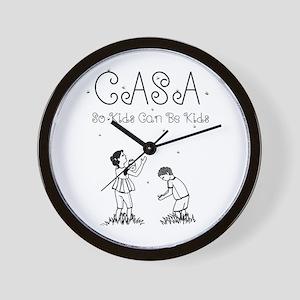 CASA Fireflies Wall Clock