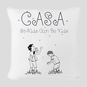 CASA Fireflies Woven Throw Pillow