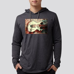 Fireplant Custom Guitars Illusio Mens Hooded Shirt