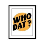 RETRO WHO DAT 1983 Framed Panel Print