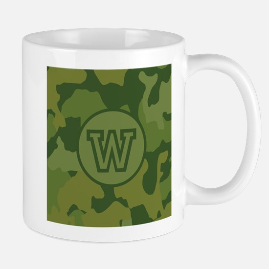 Green Camouflage Mug