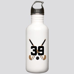 Field Hockey Number 39 Stainless Water Bottle 1.0L